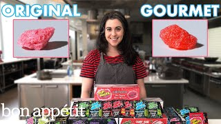 Pastry Chef Attempts to Make Gourmet Pop Rocks | Gourmet Makes | Bon Apptit