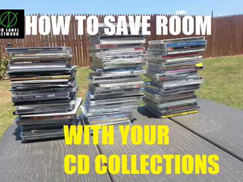 HOW TO SAVE ROOM WITH YOUR CD COLLECTION! (Lifehack)