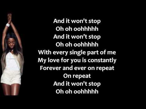 Sevyn Streeter - It Won't Stop (Lyrics Video) + Free mp3 download!