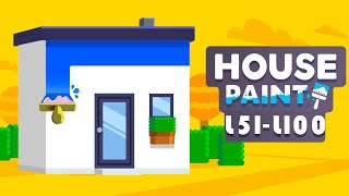 House Paint Walkthrough Level 51 - 100