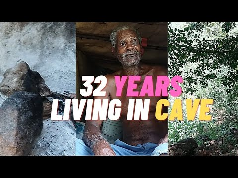 32 YEARS LIVING IN A CAVE| CAVE MAN IN JAMAICA| NASSAU VALLEY| ST. ELIZABETH| JAMAICA VLOG
