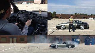 Drifting School, How To Drift For Beginners!!!