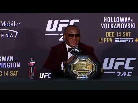 UFC 245: Главные моменты пресс-конференции