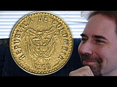 Colombia 5 Pesos 1990