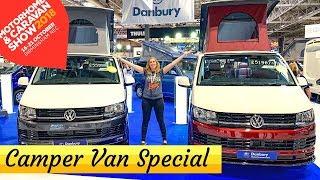 NEC Motorhome and Caravan Show 2018 - **Camper Van Special**