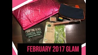 february 2017 ipsy glam bag review