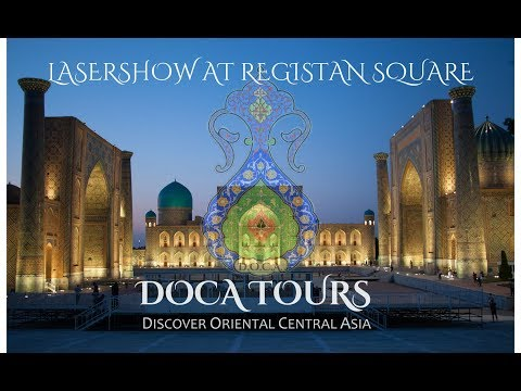 Lasershow at Registan full version