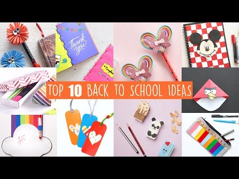 TOP 10 BACK TO SCHOOL IDEAS