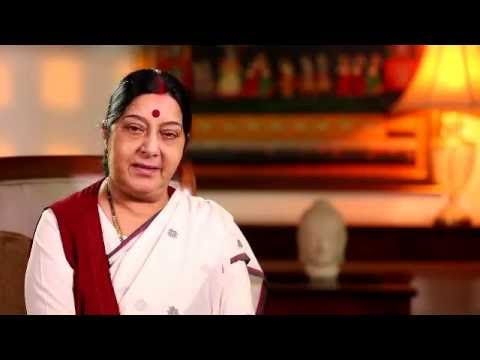 EAM Sushma Swaraj calls upon Overseas Indians to take part in India's Growth Story through IDF-OI