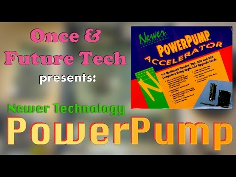 Newer Technology PowerPump for Macintosh - Unboxing and Installation | Once and Future Tech