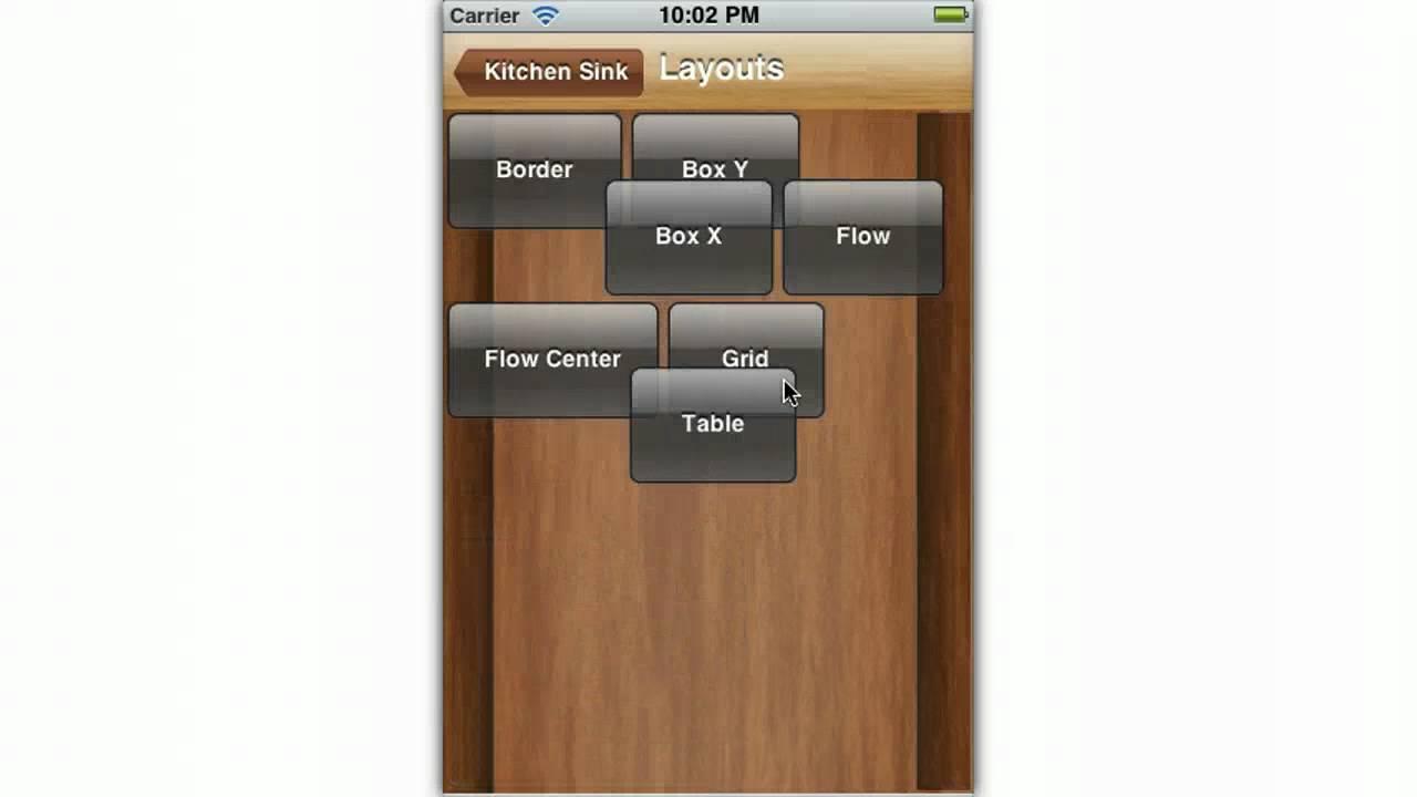 Kitchen Sink Demo iPhone 3GS - YouTube