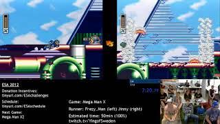 European Speedster Assembly 2012 -  Mega Man X race Frezy_Man vs. IrregularJinny