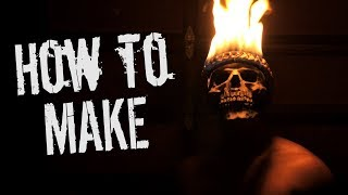 How to Make Ghost Rider/Sweet Tooth Flaming Skull Mask