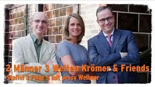 """""""Zwei Männer 3 Welten"""" – Krömer & Friends mit Jessy Wellmer"""