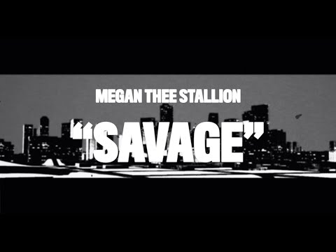 Смотреть клип Megan Thee Stallion - Savage
