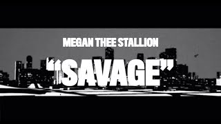 Megan Thee Stallion - Savage Animated Video