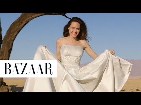 Angelina Jolie on Conservation in Namibia  Harper's BAZAAR 150th Anniversary Feature