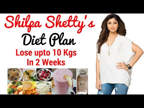 Shilpa Shetty Diet Plan For Weight Loss in Hindi | How to Lose Weight Fast 10kgs | Celebrity Diet 1