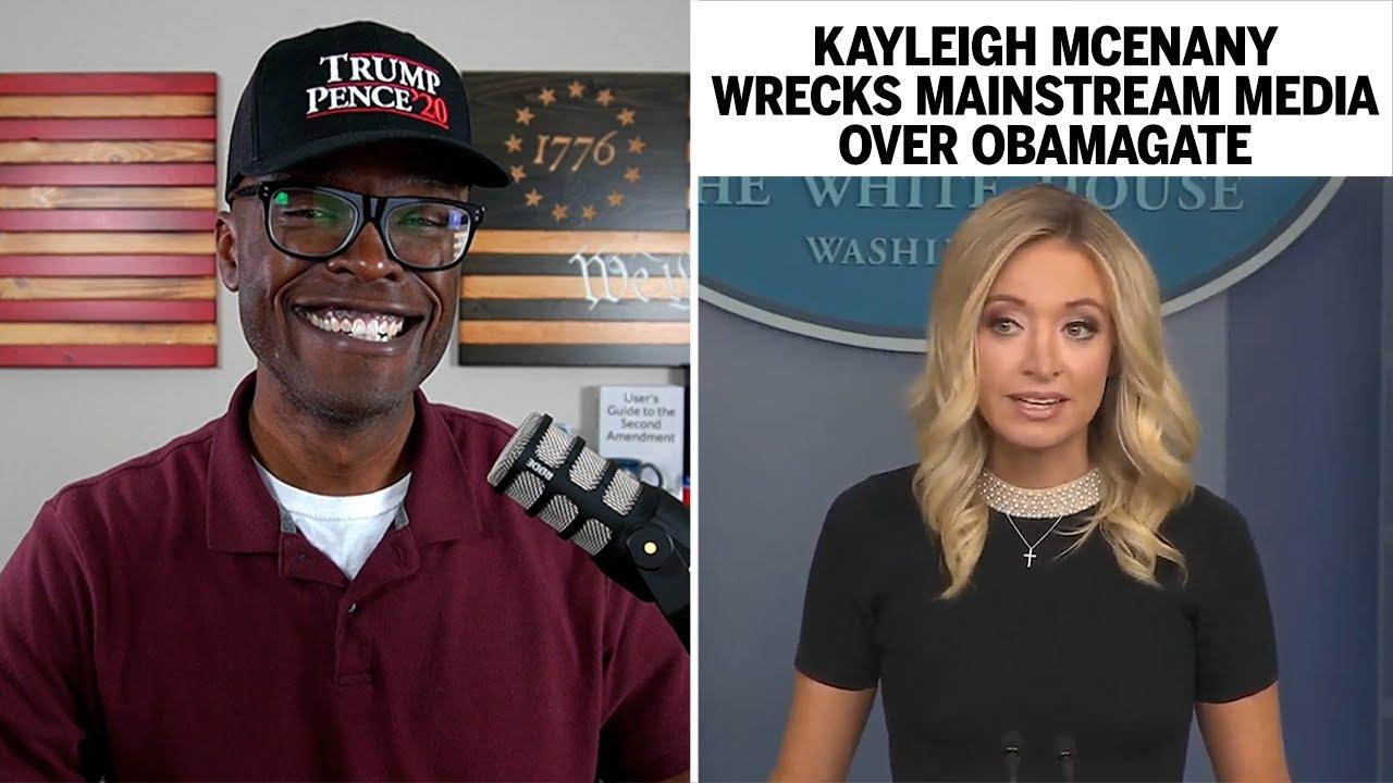 Kayleigh McEnany DESTROYS Mainstream Media Over Obamagate!