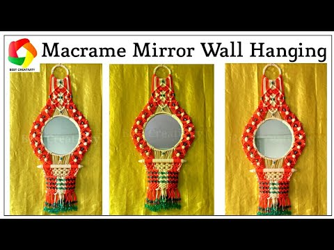 How to make Macrame Wall Hanging | New Design Macrame Wall Hanging | Wall Hanging craft | HD
