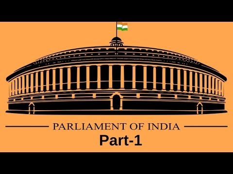 Polity - Parliament of India - Part-1