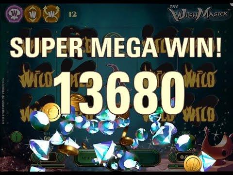Wishmaster slot super mega win bonus round youtube for Palazzi super mega