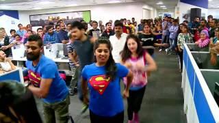 Ocwen Bangalore flashmob 2017