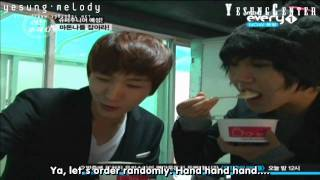 Download [engsub HD] 101104 Love Pursuer ep10: Yesung being pursued (2/3)