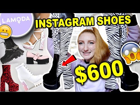 $600 LAMODA SHOE HAUL AND TRY ON!! CYBER MONDAY 2019 | Are These Instagram Shoes Legit?!