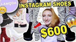 $600 LAMODA SHOE HAUL AND TRY …