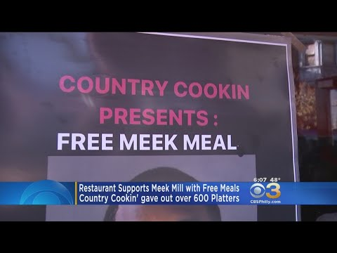 Philadelphia Restaurant Supports Meek Mill With Free Meals
