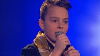 Justin Bieber -Boyfriend (Mike)  The Voice Kids 2013   Blind Auditions  SAT.1