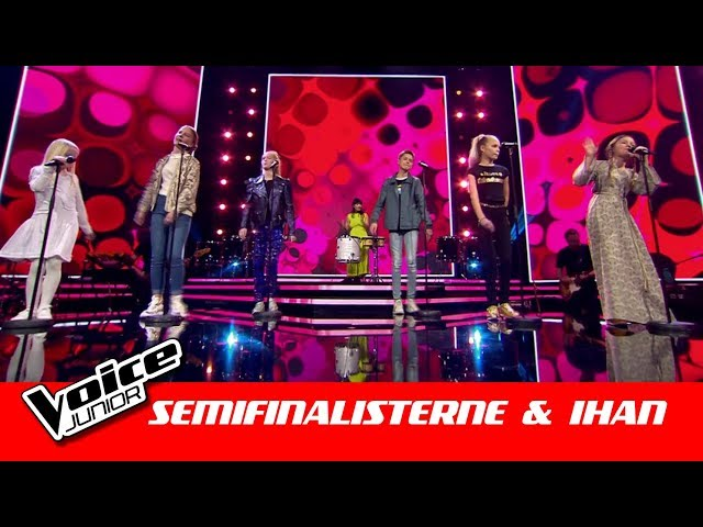 Semifinalisterne & Ihan l 'Hold on I'm Coming' l Semifinale l Voice Junior Danmark 2019