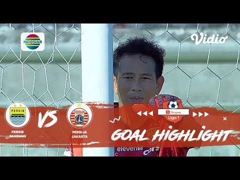 Highlight Persib Bandung 2-0 Persija Jakarta | Maung Bandung menang di Bali