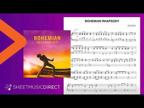 Bohemian Rhapsody Sheet Music - Queen - Piano Solo