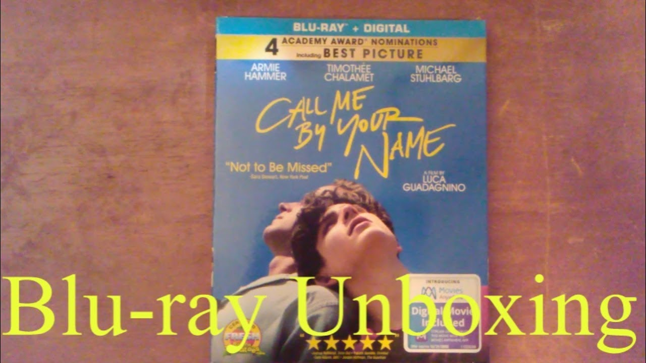 Call Me By Your Name | Blu-ray Unboxing