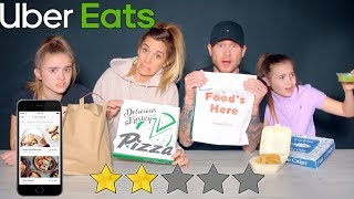We ate from the WORST REVIEWED RESTAURANTS on UBER EATS *Disgusting*