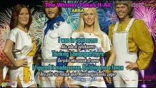 THE WINNER TAKES IT ALL  -  ABBA  -  Lirik Lagu + Terjemahan