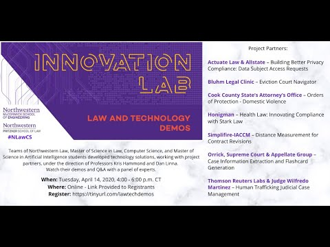 law-and-technology-demos---2020-northwestern-innovation-lab-course-projects