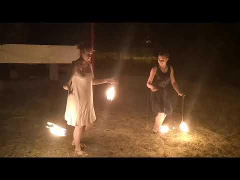 Fireshow Sagitta - Fragment Pokazu / Dni Sulęcina 2019