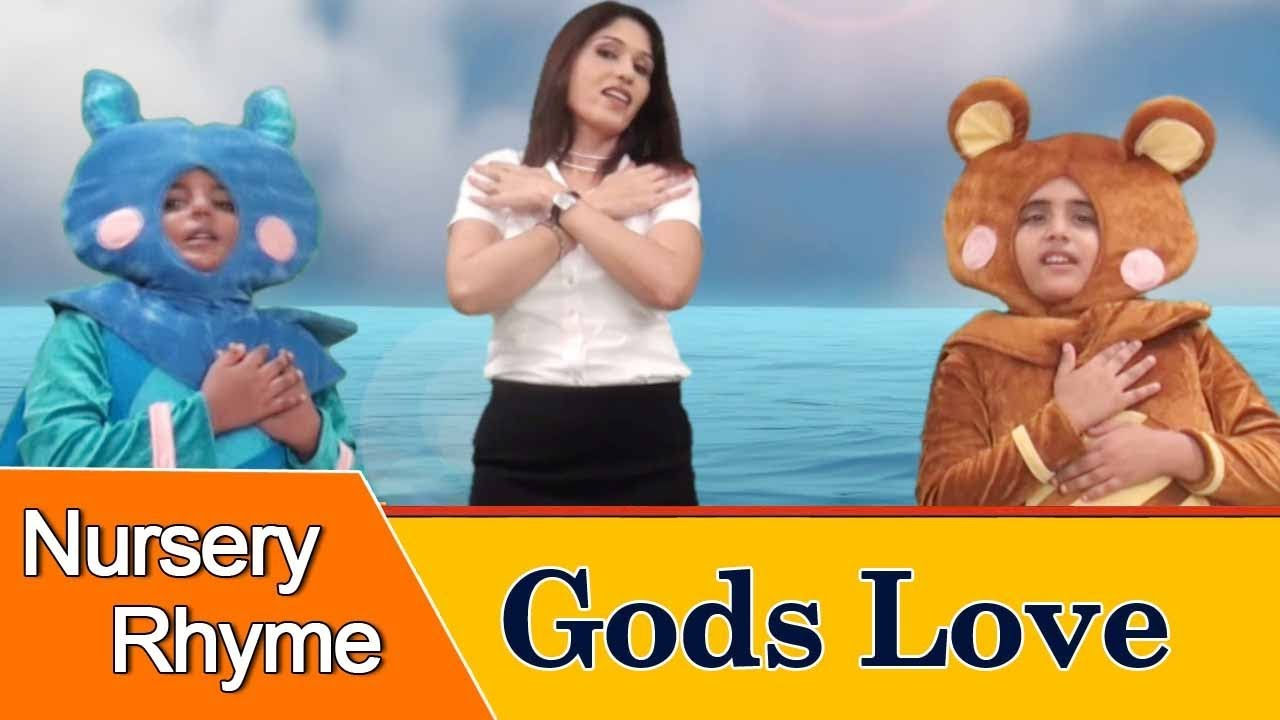 Gods Love is Wonderful Nursery Rhymes for Children | Sing and Learn
