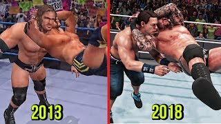 WWE 2K19 The Evolution Of Randy Orton RKO! ( SmackDown! Shut Your Mouth To WWE 2K19 )