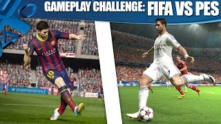 FIFA 15 vs PES 2015: Ultimate gameplay challenge!
