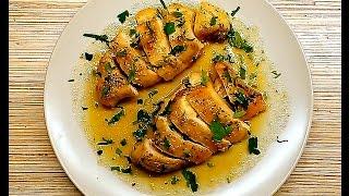 Пикантные куриные грудки, запеченные в духовке, к Новогоднему столу