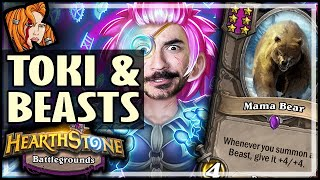 TOKI LOVES THOSE BEASTS! - Hearthstone Battlegrounds
