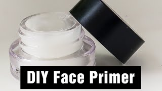 How to make Quick and easy face primer at home | Ruhi Syed