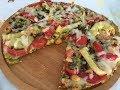 Ləziz pizza. Xəmir yoğurmadan,  mayasız, asan və ləzzətli  pizza.