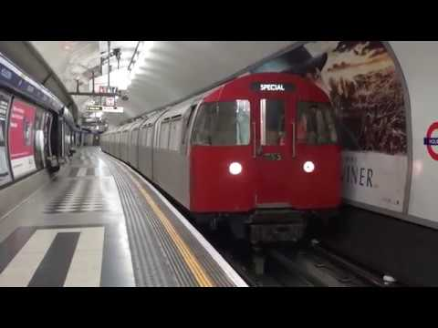 Riding the Tube to Aldwych