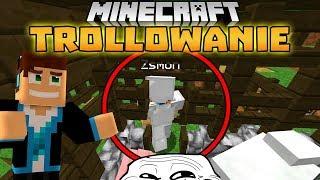 TROLLOWANIE - ZAMKNĄŁEM GRACZA W PUŁAPCE! (#48) | Minecraft Vertez
