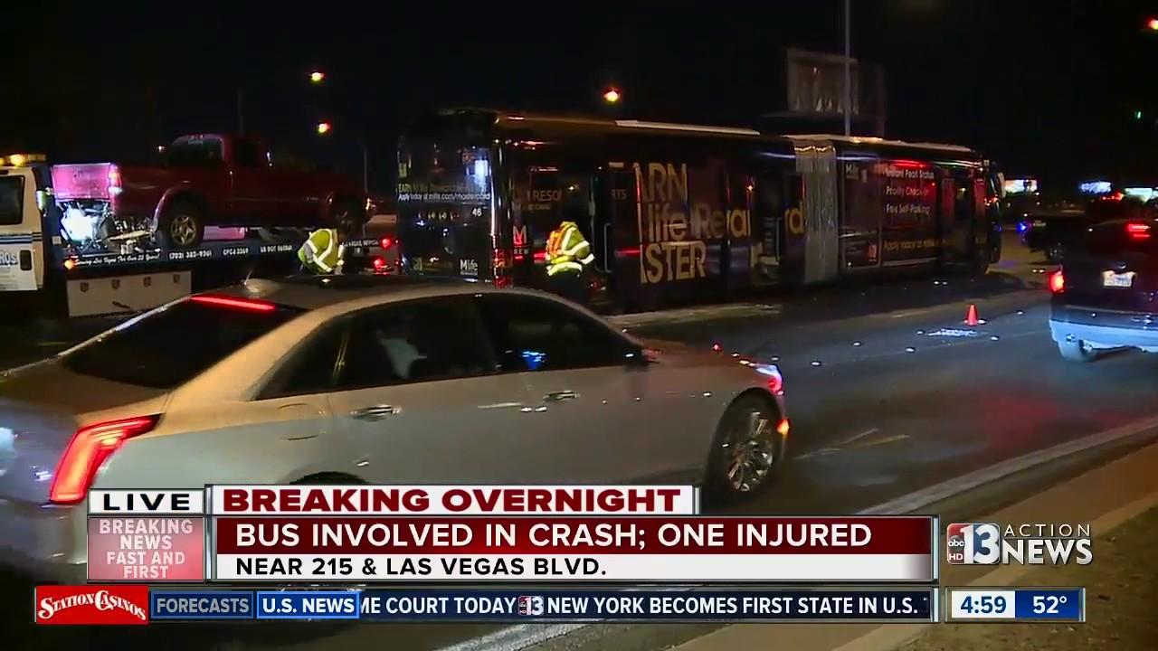 Truck lands on roof of car in crazy crash